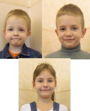 Kiryl, Pavel, Ruslana