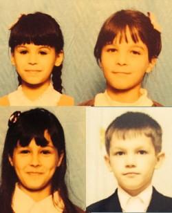 Tanya, Valya, Sveta, Sergey