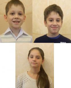 Victor, Alex, Katya